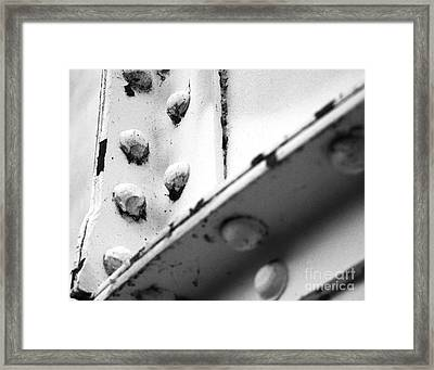 Riveting Framed Print by Jim Rossol