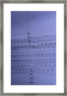 Framed Print featuring the photograph Riveting by Steven Milner
