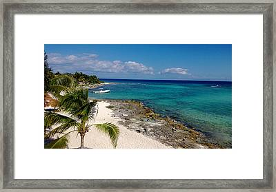 Riviera Maya Framed Print by Terry Eve Tanner