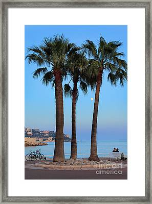 Riviera Romance Framed Print by Inge Johnsson