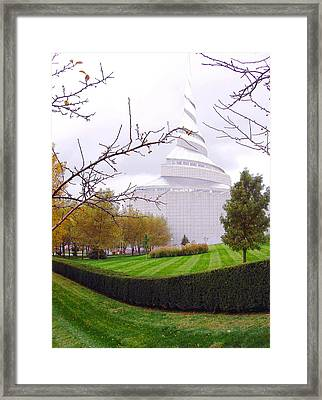 Rlds Church Framed Print by Ellen Tully