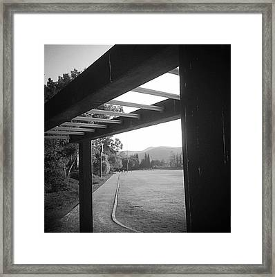 Road Before You Framed Print by Melissa Labnow