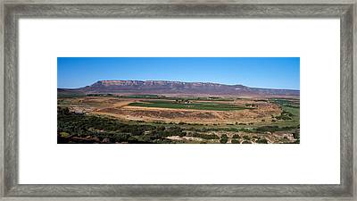 Road From Cape Town To Namibia Framed Print by Panoramic Images