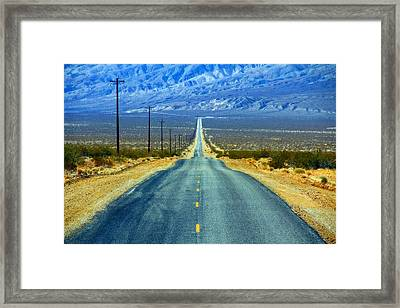 Road Framed Print