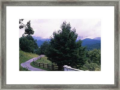 Road Less Traveled  Framed Print by Retro Images Archive