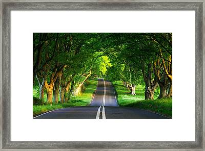 Framed Print featuring the digital art Road Pictures by Marvin Blaine