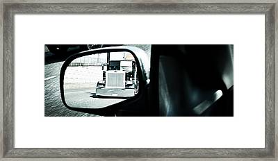Framed Print featuring the photograph Road Rage by Aaron Berg