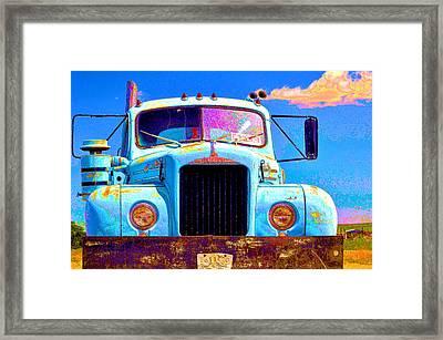 Road Rage Framed Print
