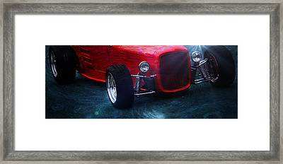 Old Car Framed Print featuring the photograph Road Rod  by Aaron Berg