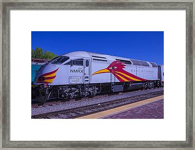 Road Runner Express Train Framed Print by Garry Gay