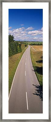Road, Southern Germany Framed Print