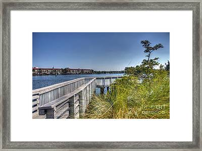 Road To A Glorious Morning Framed Print by Ines Bolasini
