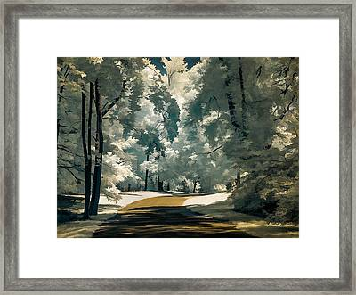 Framed Print featuring the photograph Road To Anywhwere by Steve Zimic