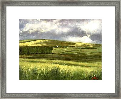 Road To Ardara Framed Print