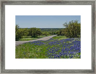 Road To Castell Framed Print
