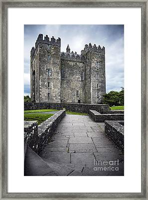Road To Castle Framed Print by Svetlana Sewell