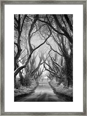 Road To Dream Framed Print by Pawel Klarecki
