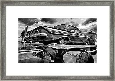 Road To Future Framed Print