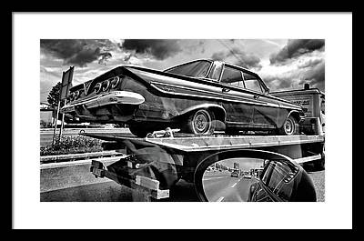 Tow Truck Framed Prints