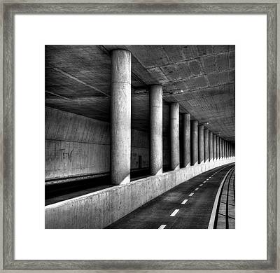 Road To Framed Print