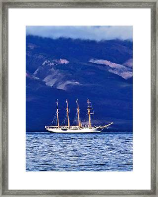 Framed Print featuring the photograph Road To Lahaina 34 by Dawn Eshelman