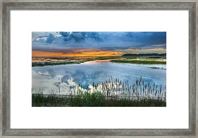 Road To Lieutenant Island Framed Print