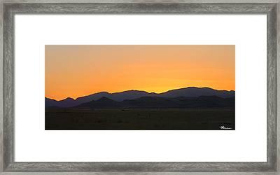 Road To Marfa #1 Framed Print