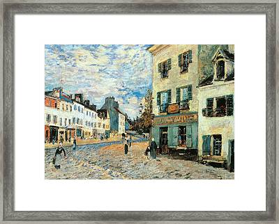 Road To Marly Framed Print