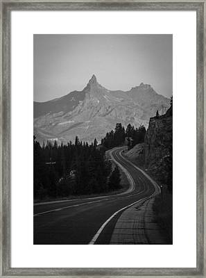 Road To Mordor Framed Print