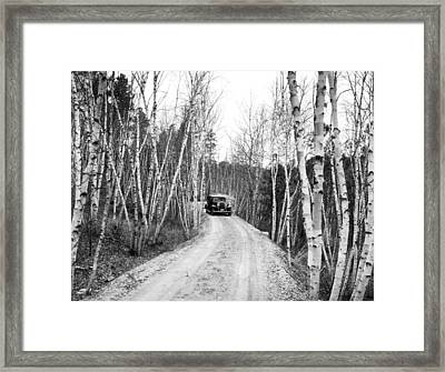 Road To Mount Rushmore Framed Print by Underwood Archives