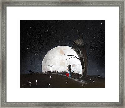 Surreal Art Prints By Erback Framed Print by Shawna Erback