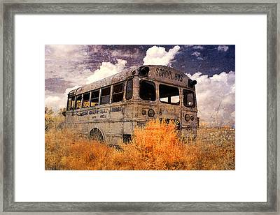 Road To No Where Framed Print by Cindy Archbell