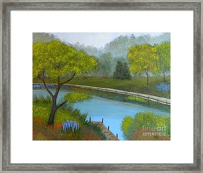 Road To Peace Framed Print