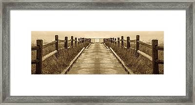 Road To Recovery Framed Print by Don Spenner