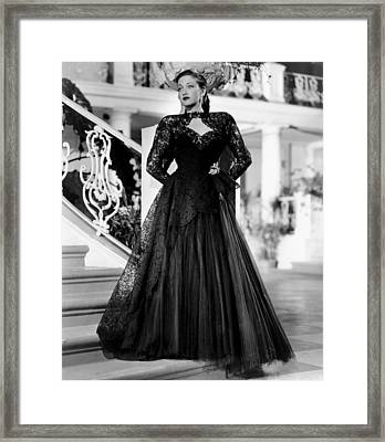 Road To Rio, Dorothy Lamour, In A Black Framed Print by Everett