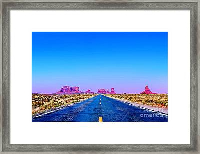 Road To Ruin 2 Framed Print