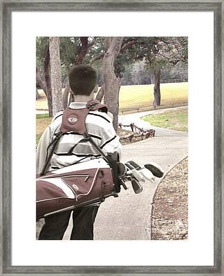 Road To Success - Inspirational Art Framed Print by Ella Kaye Dickey