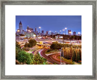 Road To The City Framed Print