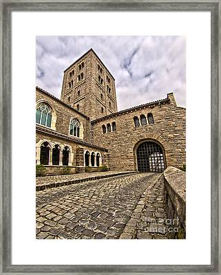 Road To The Gatehouse - In Color Framed Print by Mark Miller
