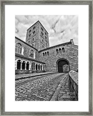 Road To The Gatehouse Framed Print by Mark Miller