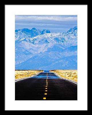 Mountain Framed Prints