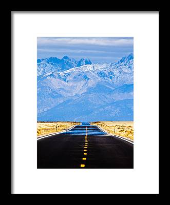 Pavement Framed Prints