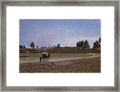Road Too Mexico Framed Print by Michael Faryma