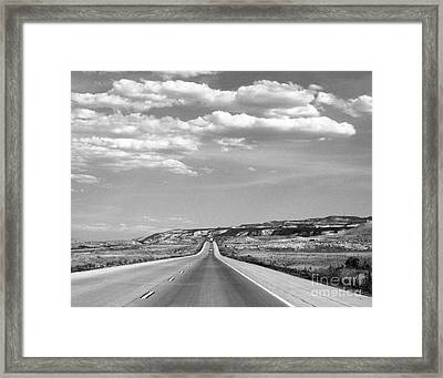 Road Trip 1 Framed Print