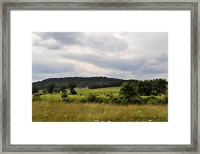 Framed Print featuring the photograph Road Trip 2012 by Verana Stark