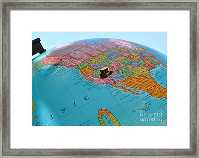 Road Trip Framed Print by Allegresse Photography