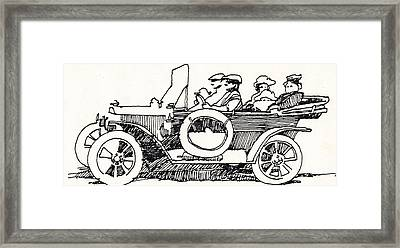 Road Trip Framed Print by Dale Michels
