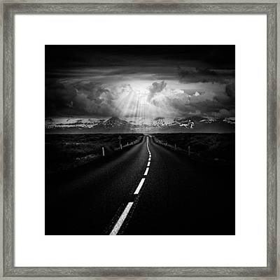 Road Trip Framed Print by Ian Good