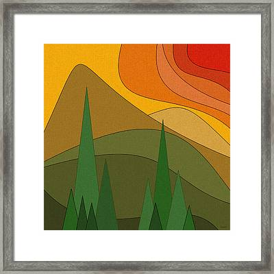 Road Trip Framed Print by Val Arie