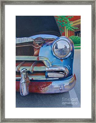 Road Warrior Framed Print by Pamela Clements